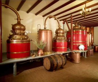 Century old copper stills
